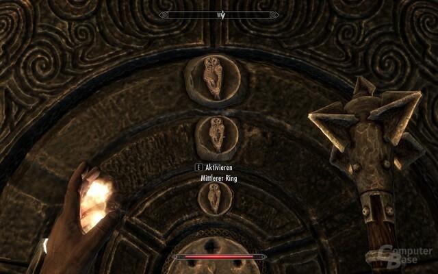 """The Elder Scrolls V: Skyrim: Kleiner Rätselabschnitt in """"Skyrim"""""""
