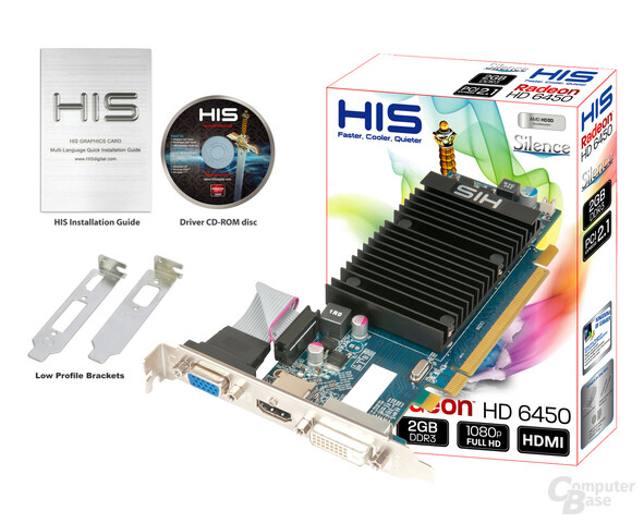 HIS Radeon HD 6450 Silence 2GB