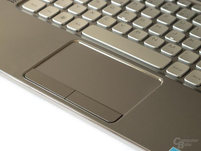 Dell XPS 14z: Unpräzises Touchpad