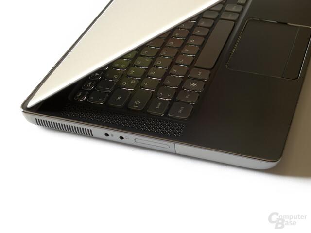 Dell XPS 14z: Beleuchtete Tastatur