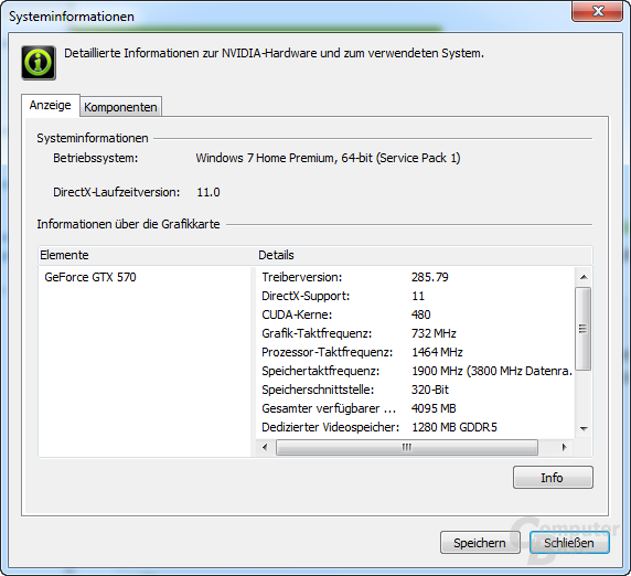 Nvidia GeForce 285.79