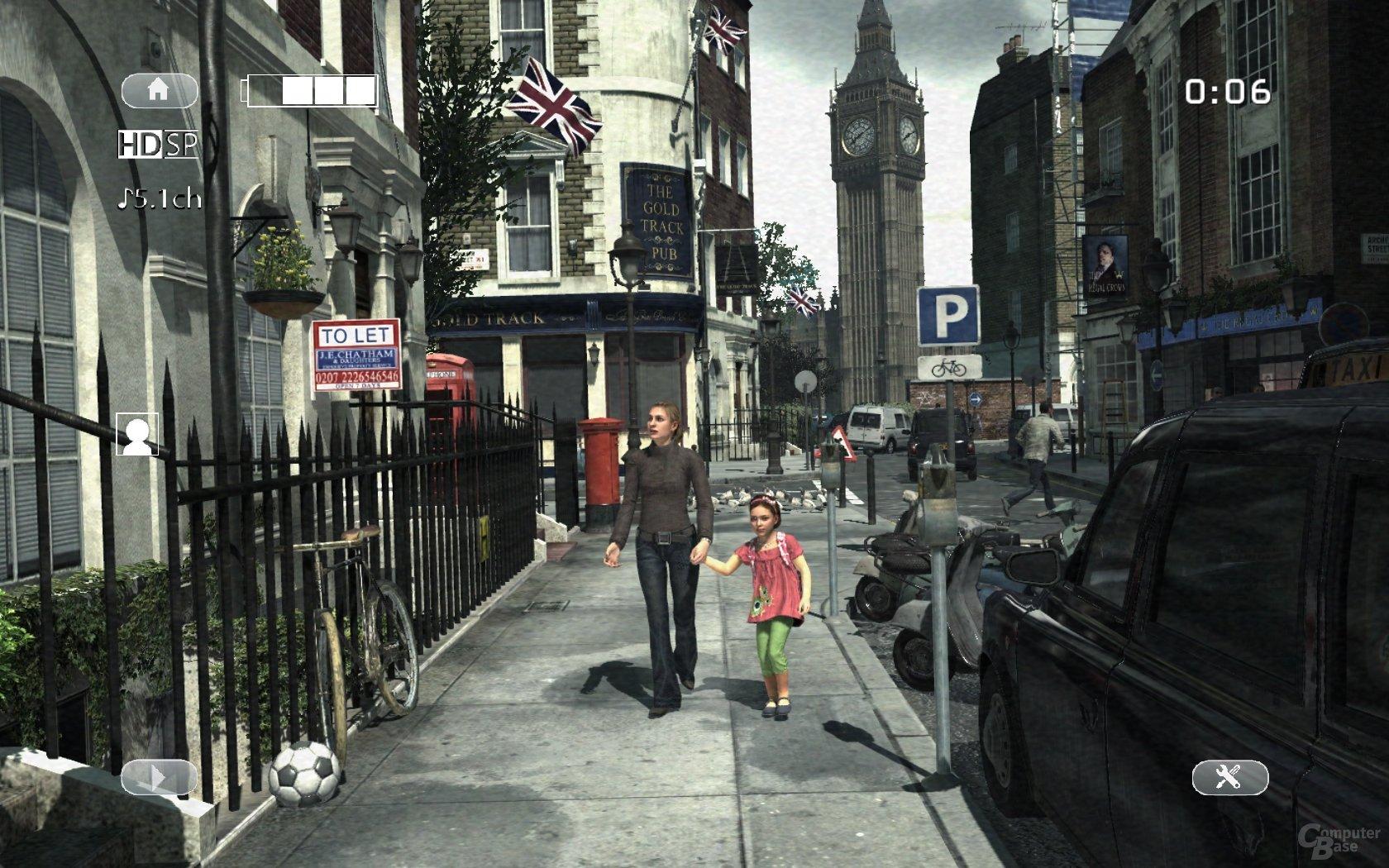 Modern Warfare 3: Familien-Idylle in London: Der Mini-Skandal gehört dazu