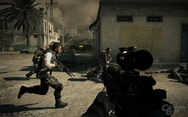Modern Warfare 3: Alte Bekannte unter sich: Soap, Price und Co