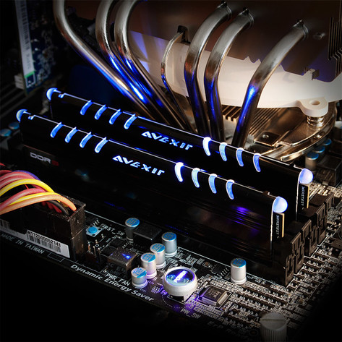 Avexir Core Series mit LEDs
