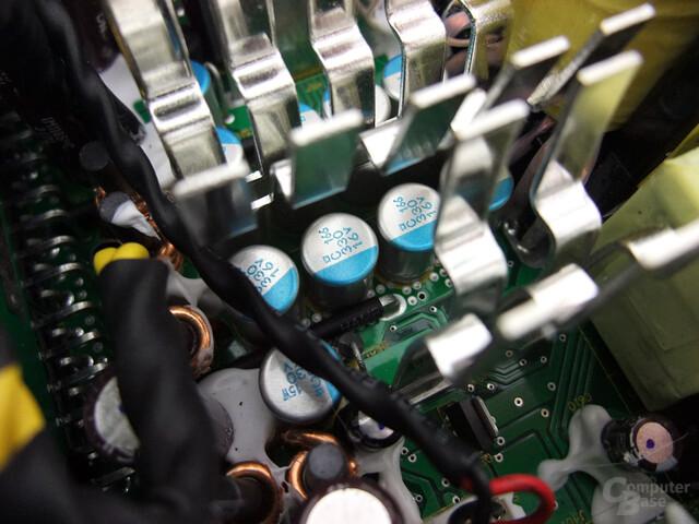 Seasonic Platinum - Feststoffkondensatoren