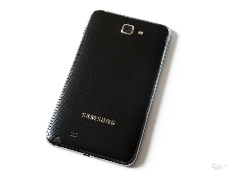 Die Rückseite des Galaxy Note