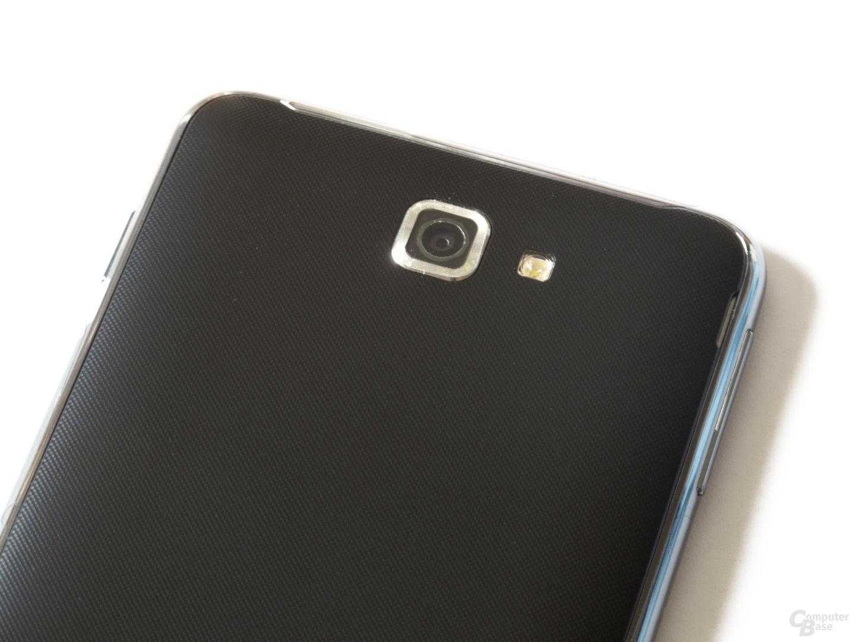 Samsung Galaxy Note: Die 8 Megapixel-Optik des Galaxy Note