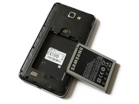 Samsung Galaxy Note: Der große Akku misst 2.500 mAh