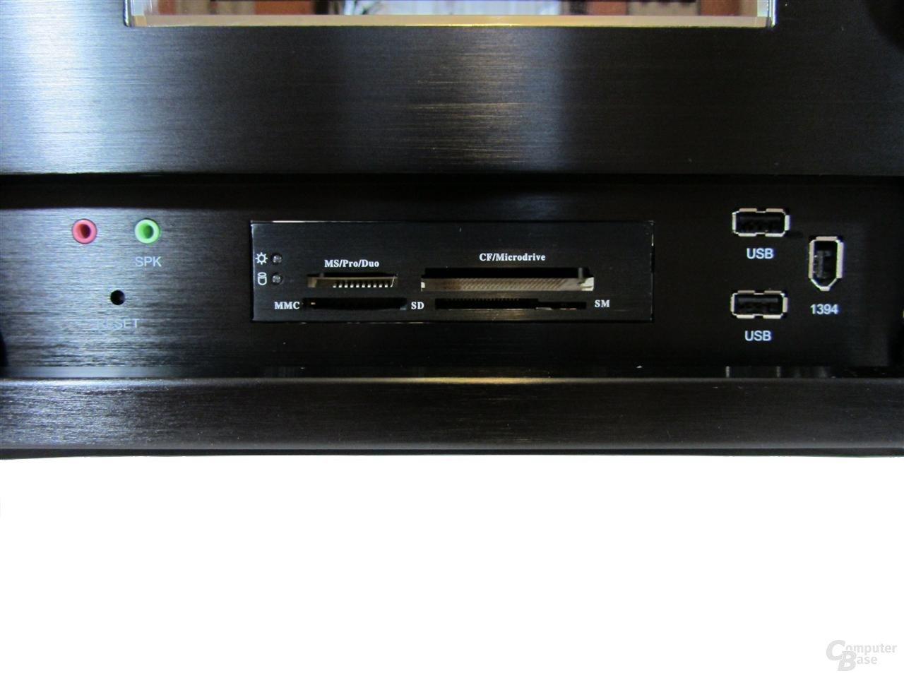 SilverStone CW02 - Frontpanel und Cardreader