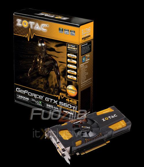 GTX 560 Ti (448 Cores) von Zotac