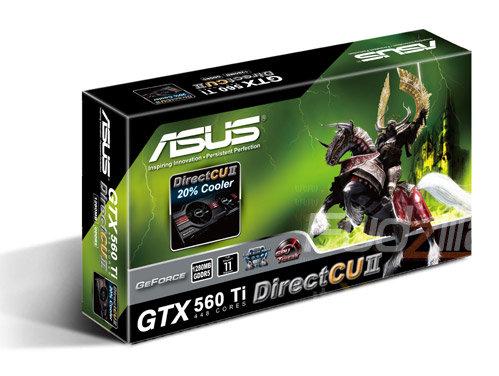 GTX 560 Ti (448 Cores) von Asus