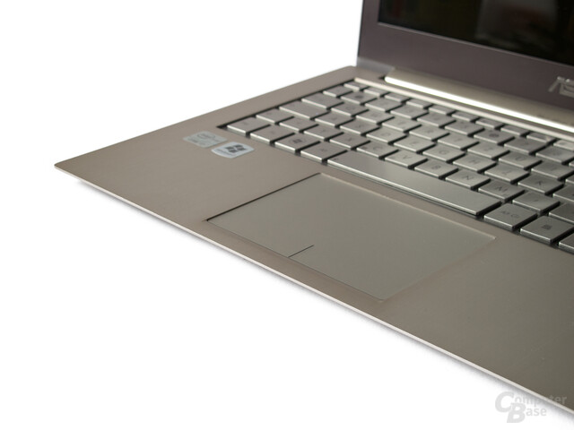 Asus Zenbook UX31E Touchpad: Großes, aber streckenweise unpräzises Touchpad