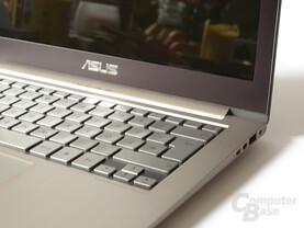 Asus Zenbook UX31E Tastatur: Guter Druckpunkt, kurzer Hub