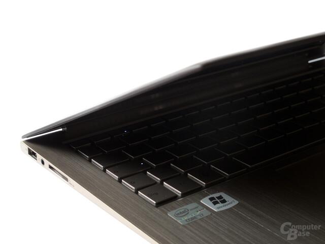 Asus Zenbook UX31E: Tastatur ohne Beleuchtung