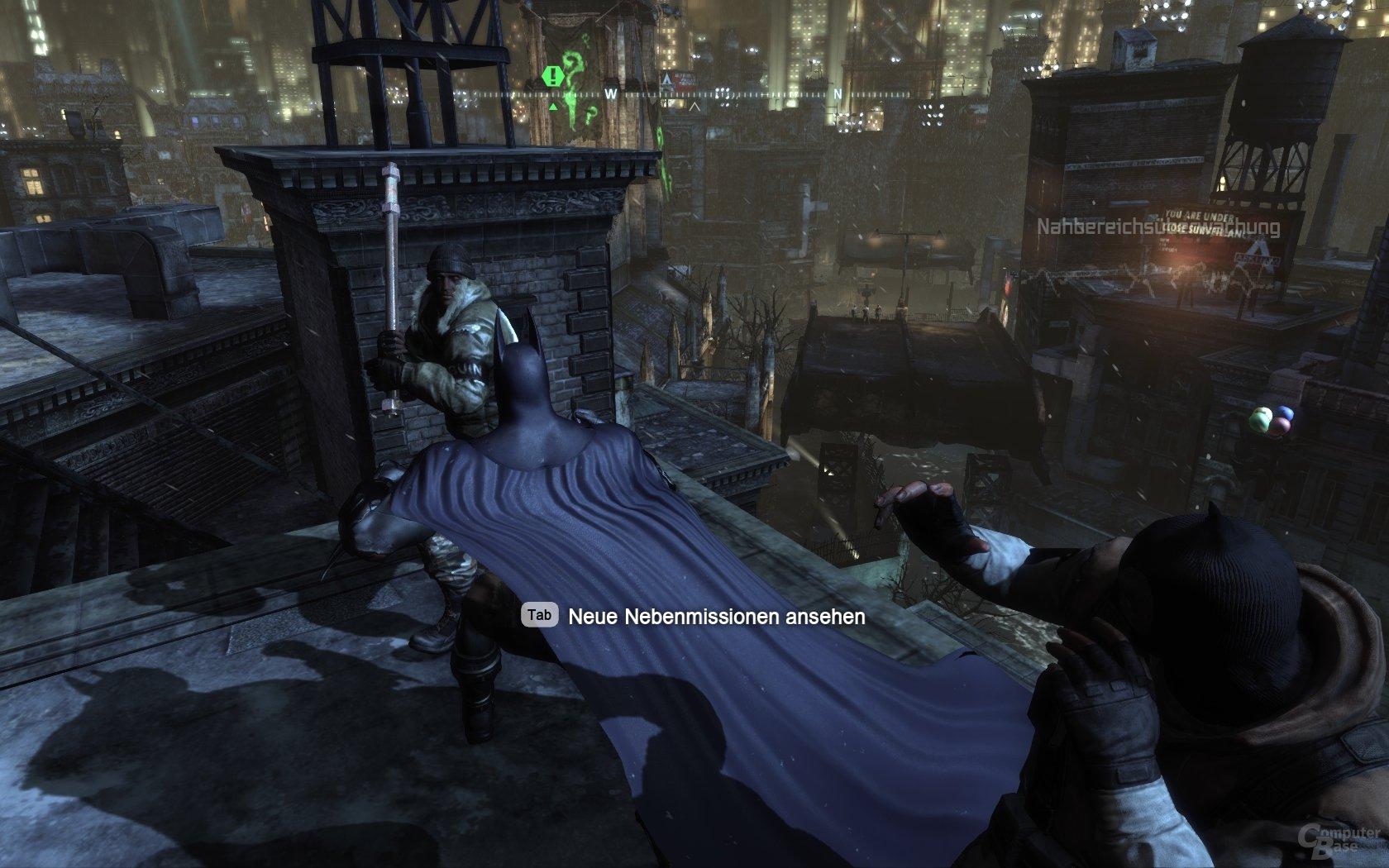 Batman: Arkham City: Kampf in BAC: Auf das Timing kommt es an