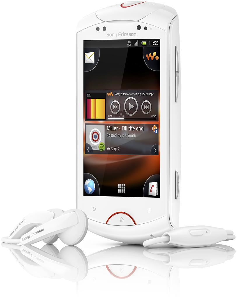 Sony Ericsson Live mit Walkman