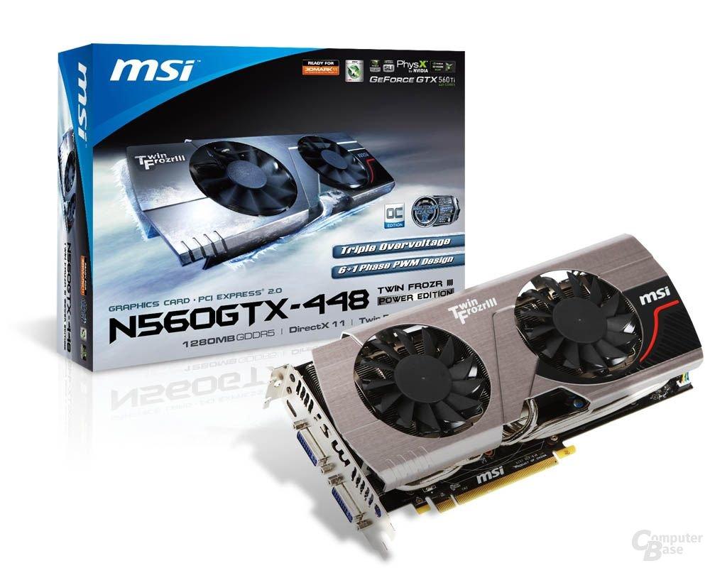 MSI N560GTX Twin Frozr III Power Edition/OC