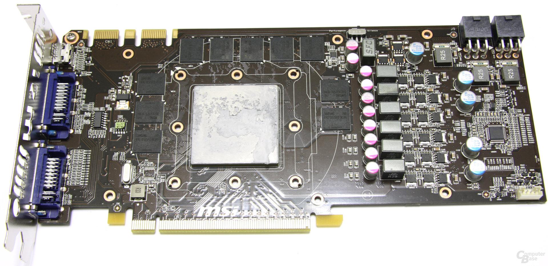 GeForce GTX 560 Ti 448 Core TFIII PE OC ohne Kühler