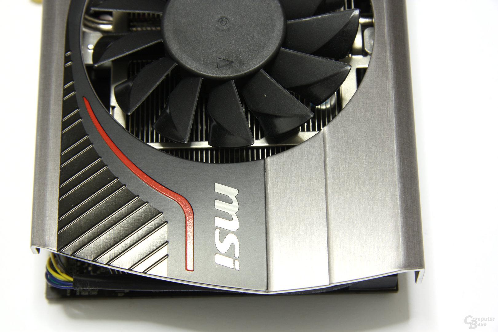 GeForce GTX 560 Ti 448 Core TFIII PE OC von oben