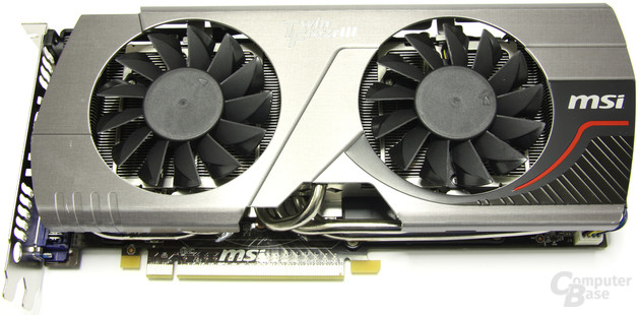 MSI GeForce GTX 560 Ti 448 Core TFIII PE OC