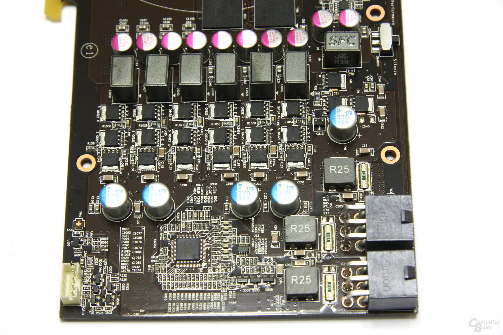 GeForce GTX 560 Ti 448 Core TFIII PE OC Bauteile 2