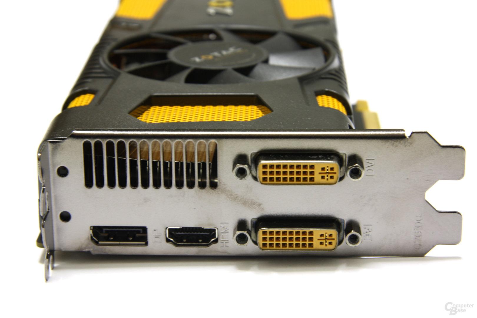 GeForce GTX 560 Ti 448 Core LE Slotblech