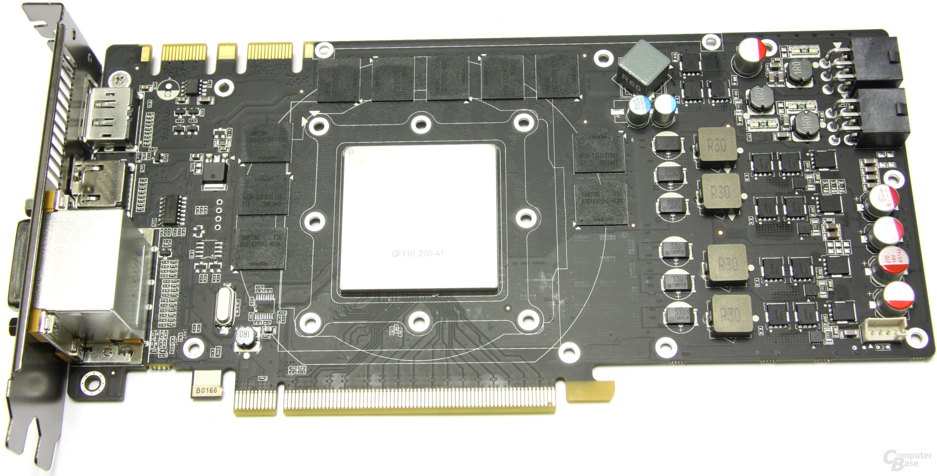 GeForce GTX 560 Ti 448 Core LE ohne Kühler