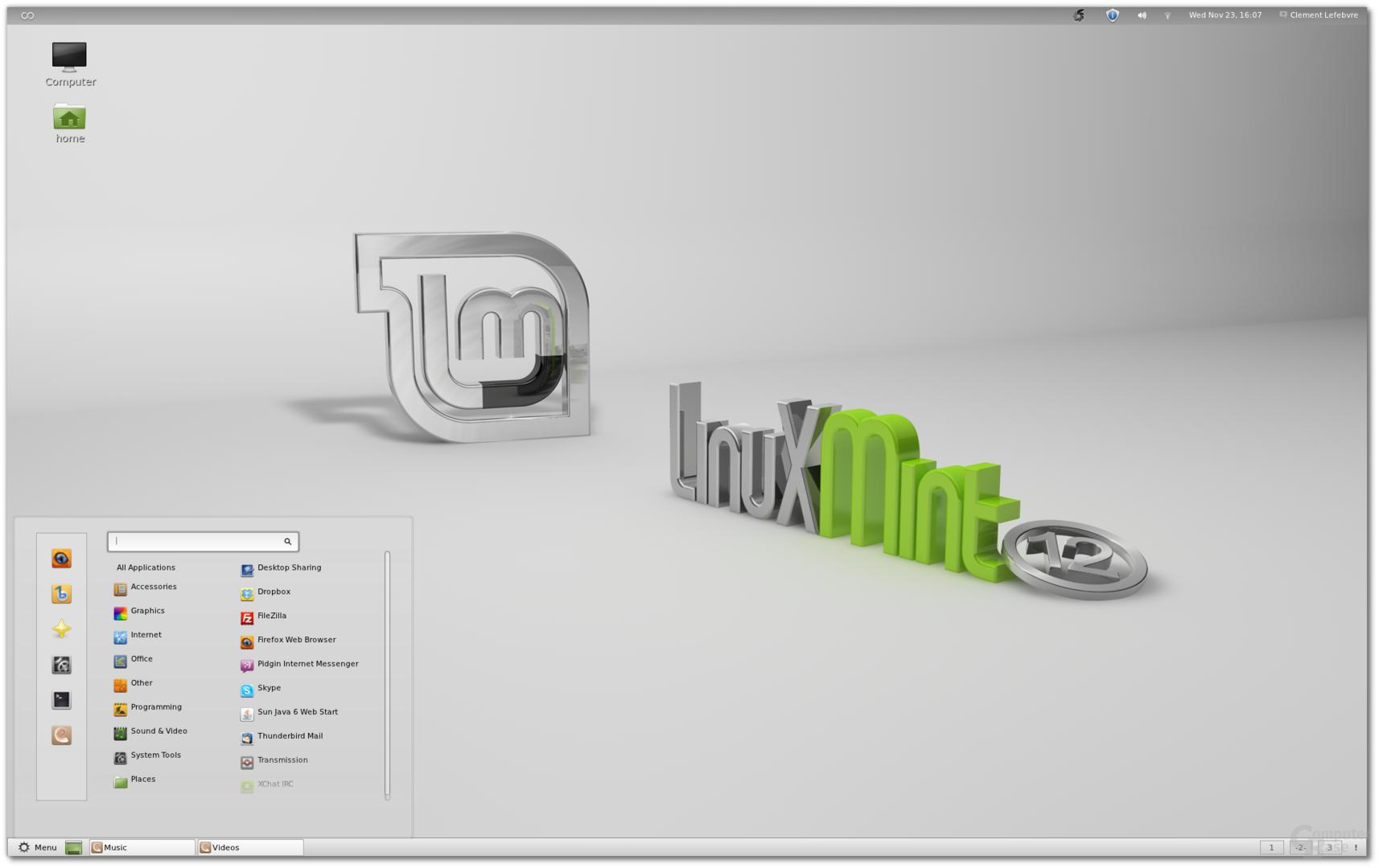 Linux Mint Lisa