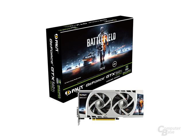 Palit GeForce GTX 560 Ti 448 (Mercury Design)