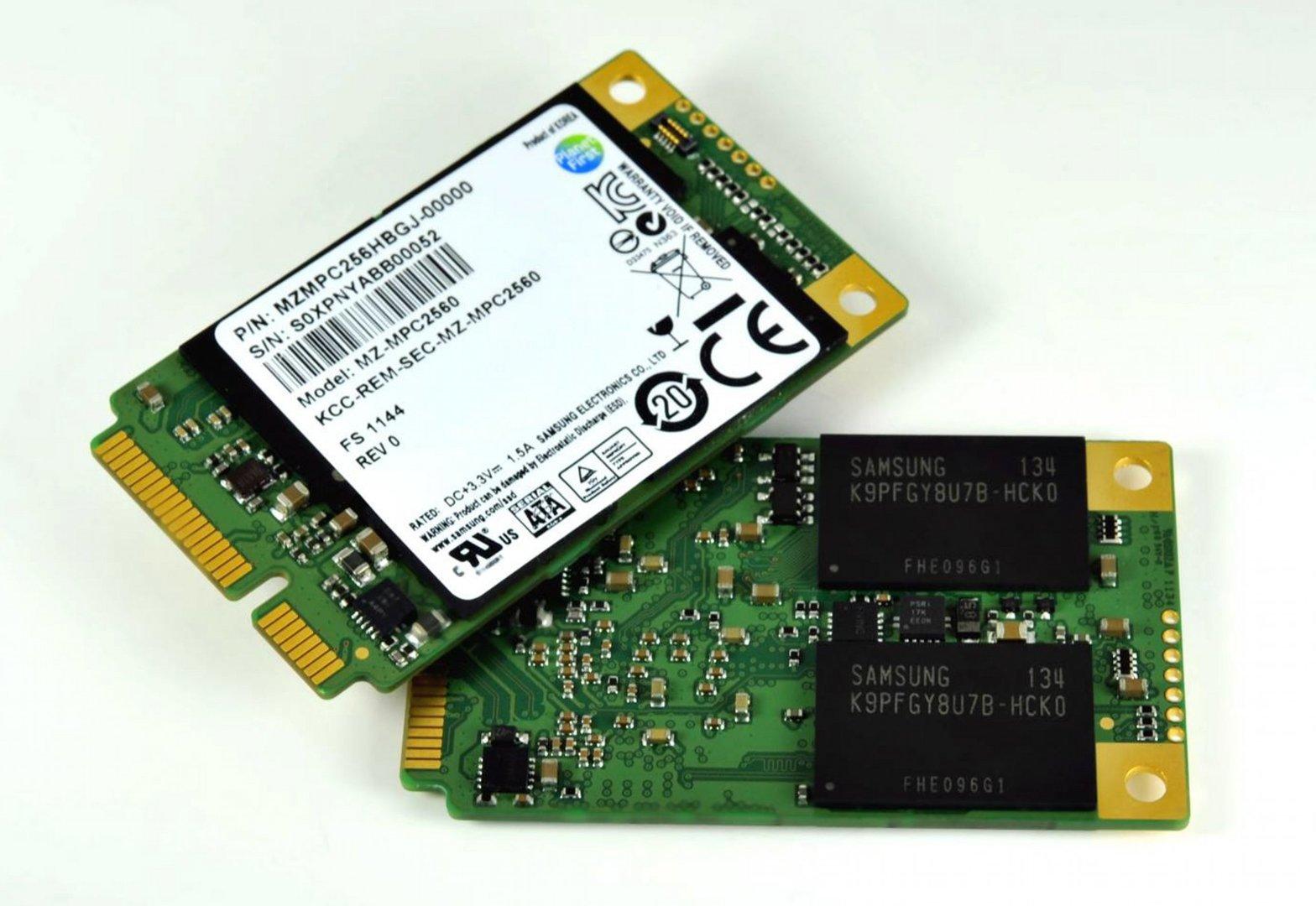 mSATA-SSD von Samsung