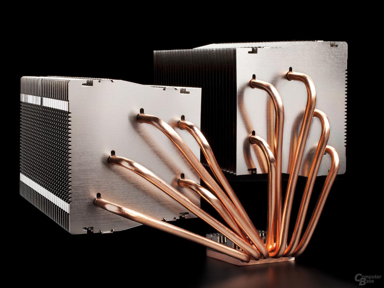 silentmaxx TwinBlock CPU-Kühler