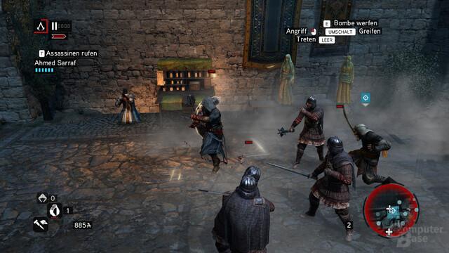 """Assassin's Creed: Revelations: Kämpfe bleiben auch in """"Revelations"""" zu einfach"""