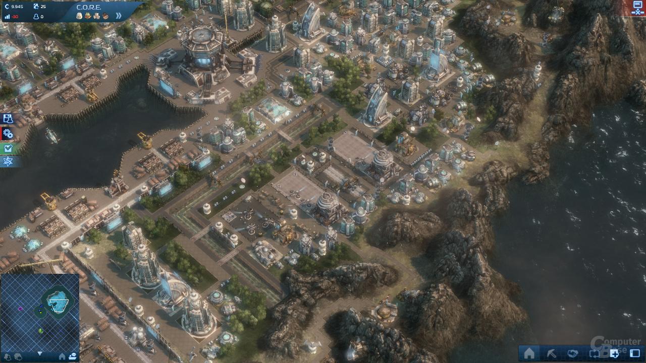 Nvidia GF110 - Anno 2070