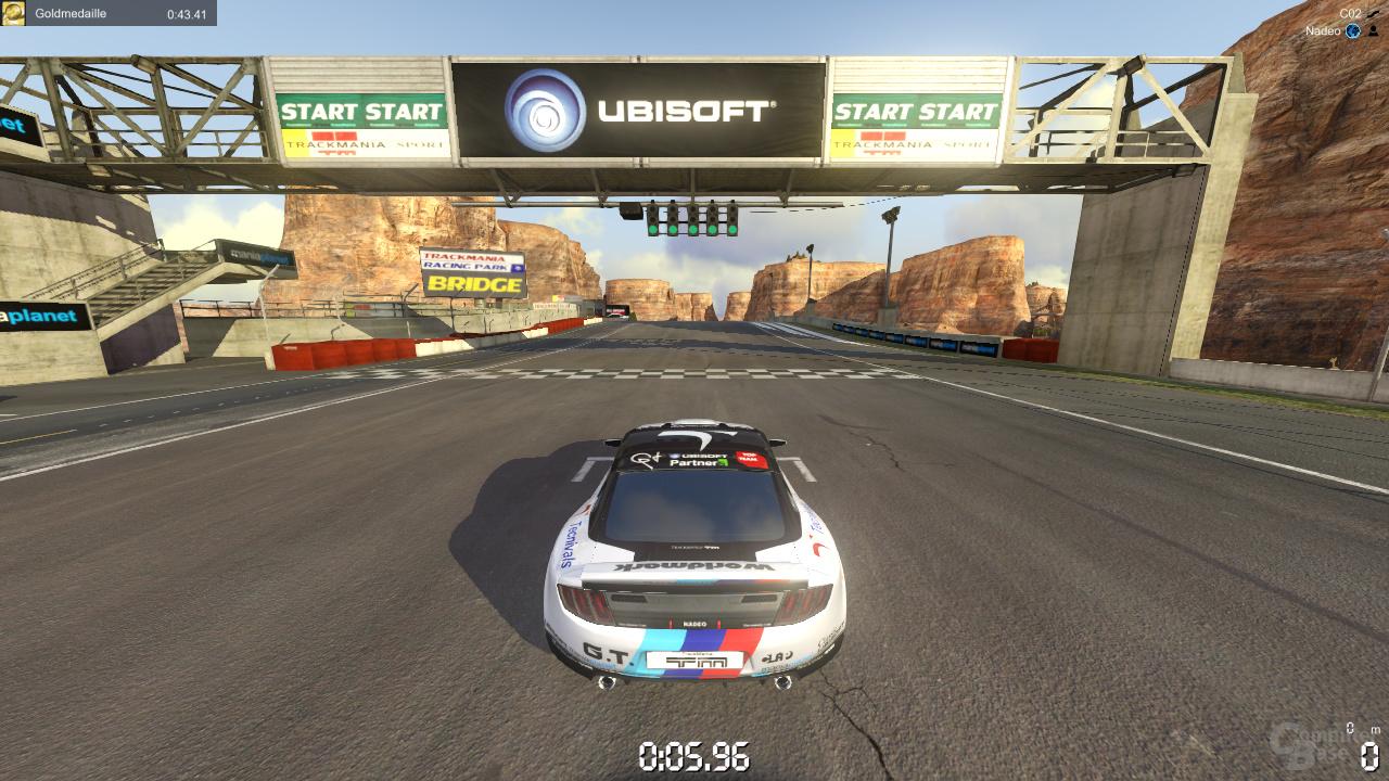 Nvidia GF110 - Trackmania 2 Canyon
