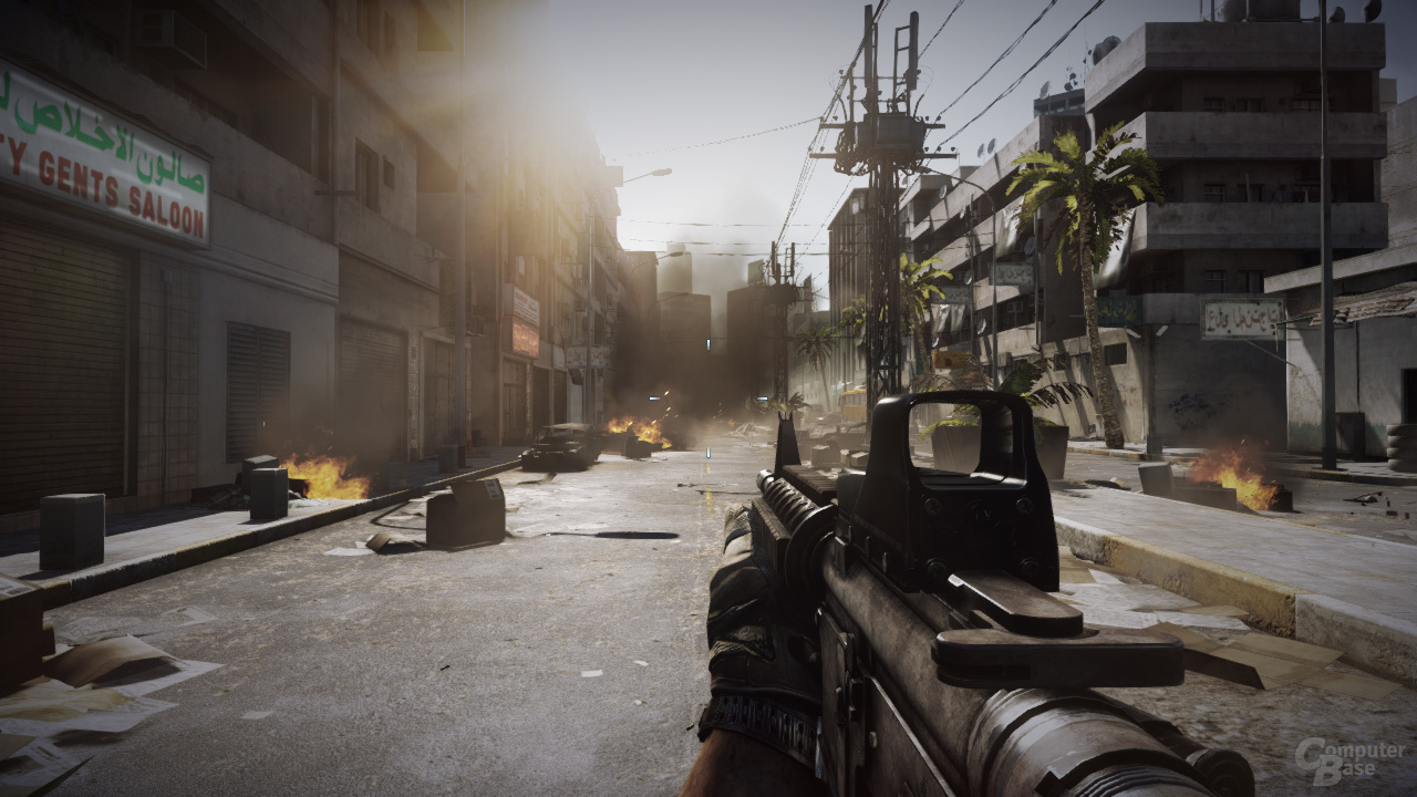 AMD Cayman - Battlefield 3