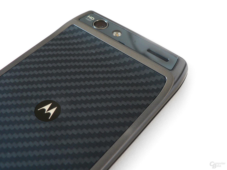 Motorola Razr: Kevlar-Schale und wulstige Stirn beim Razr