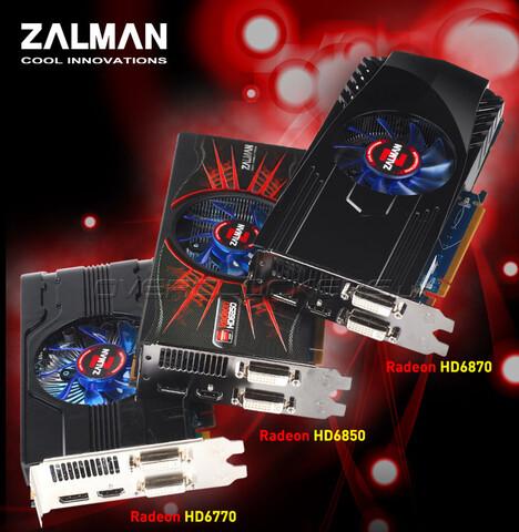 Radeon-Grafikkarten von Zalman