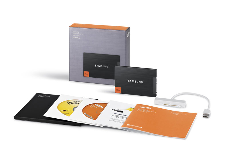 Lieferumfang des Notebook-Upgrade-Kits