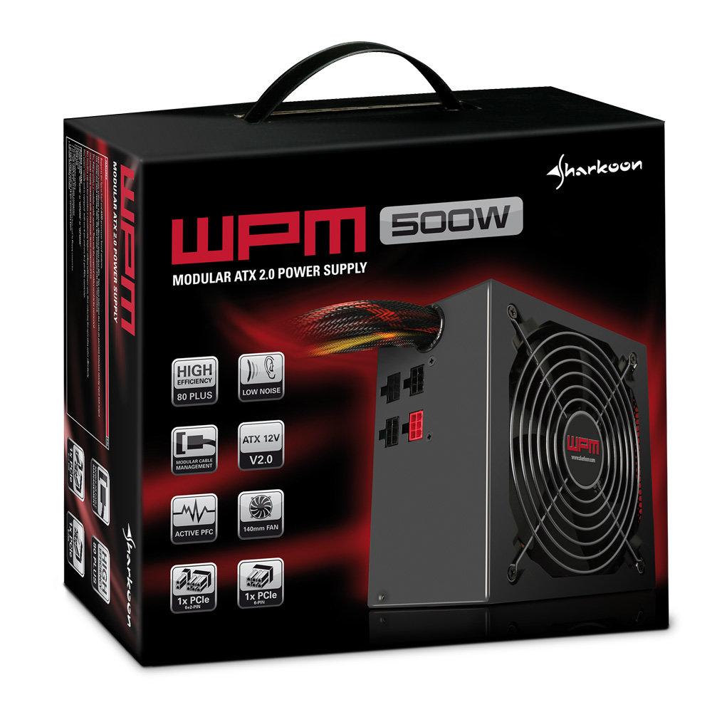 Sharkoon WPM600 Netzteil