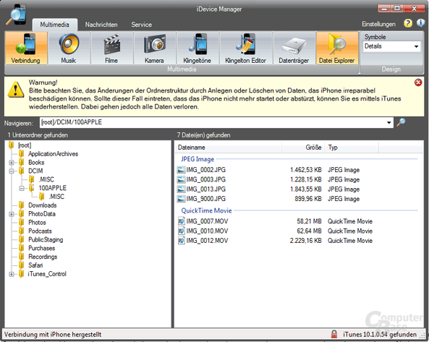 Datei Explorer