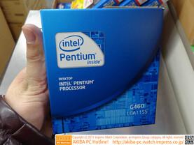 Intel Celeron G460 in Pentium-Verpackung