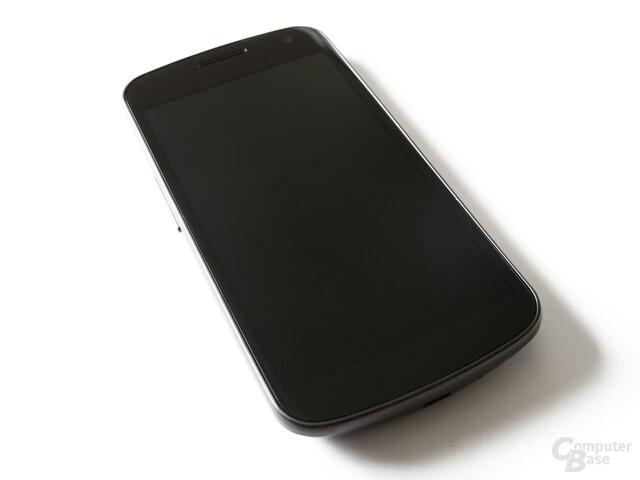 Samsung Galaxy Nexus: Schlichte Front