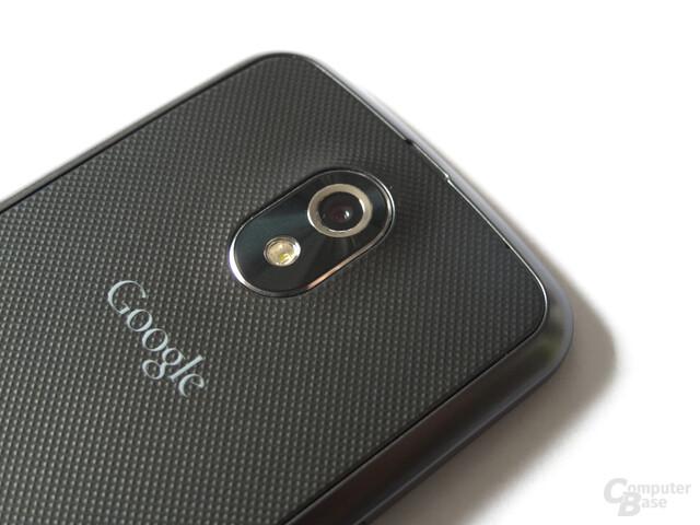 Samsung Galaxy Nexus: Kamera mit LED-Blitz
