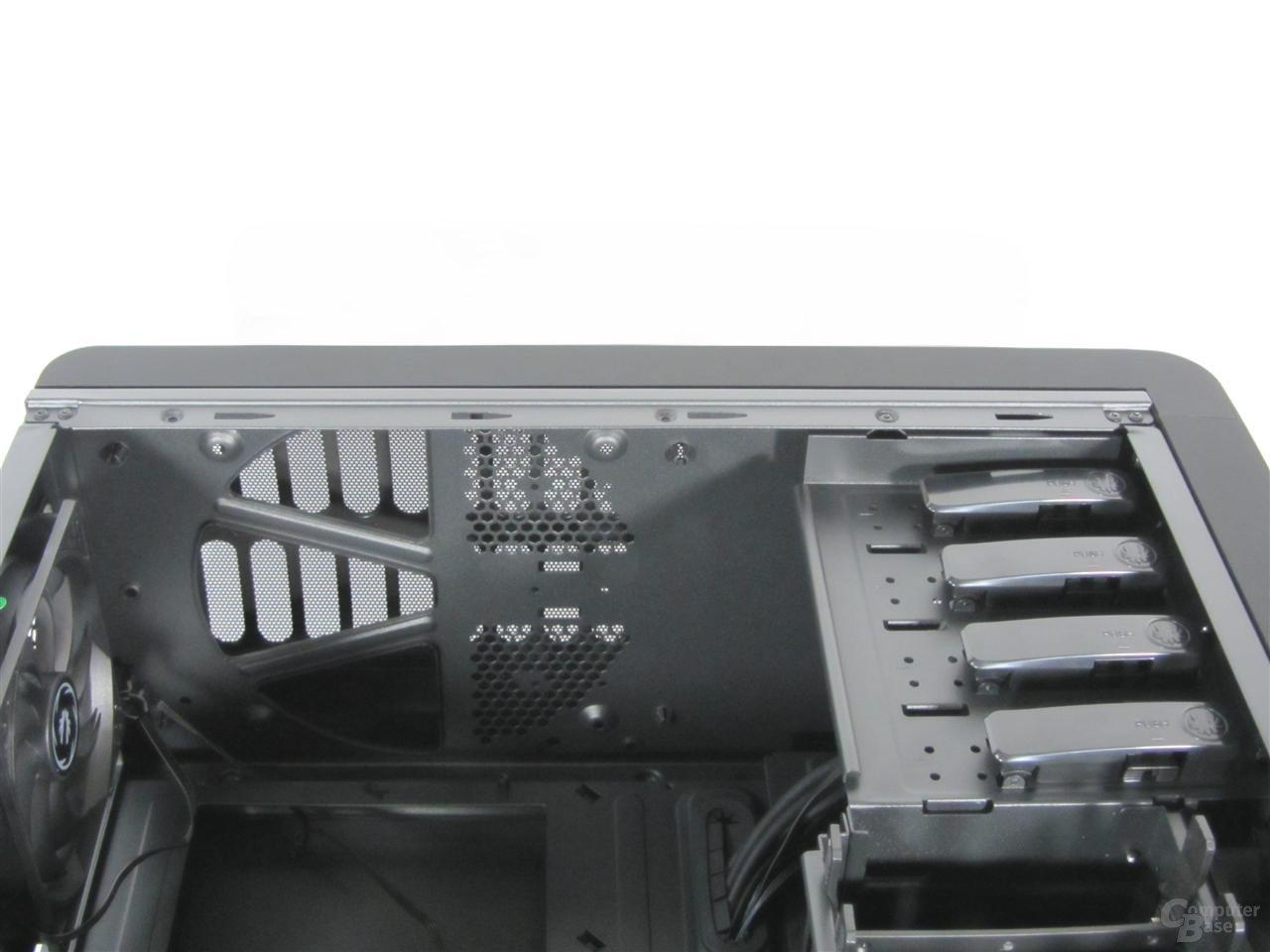 BitFenix Raider - Innenraum