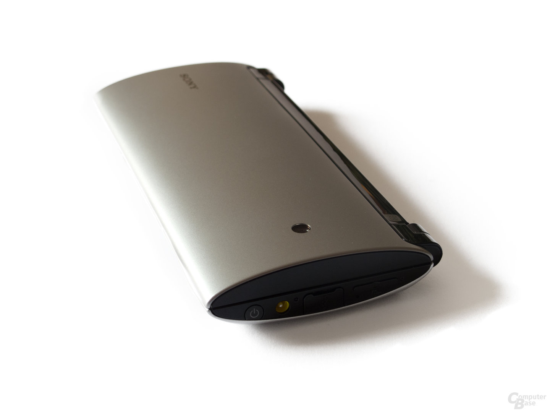 Sony Tablet P: Leicht und kompakt im geschlossenen Zustand