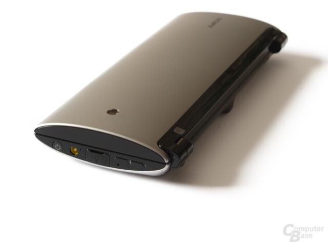 Sony Tablet P im geschlossenen Zustand