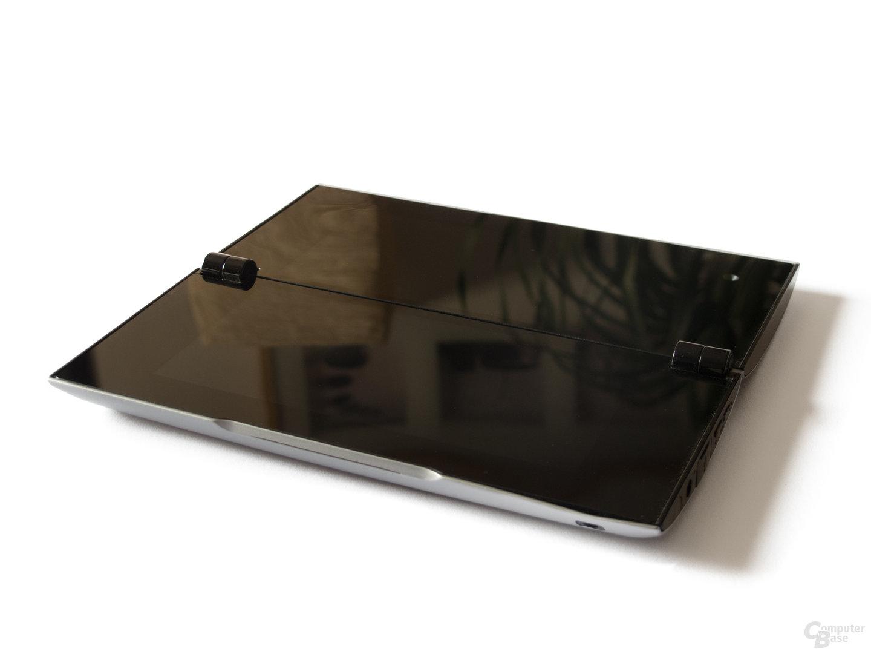 Sony Tablet P: Die beiden Displays auf einer Fläche