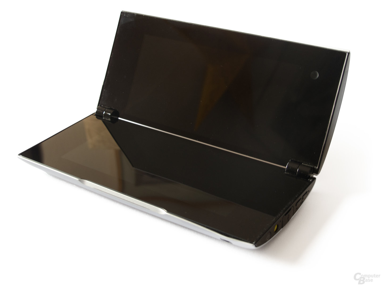 Sony Tablet P: Die Konstruktion polarisiert