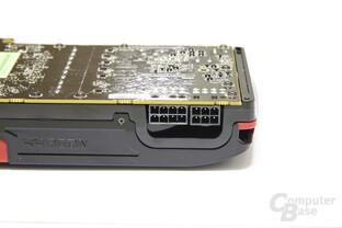 Radeon HD 7970 GPU und Speicher Stromanschlüsse