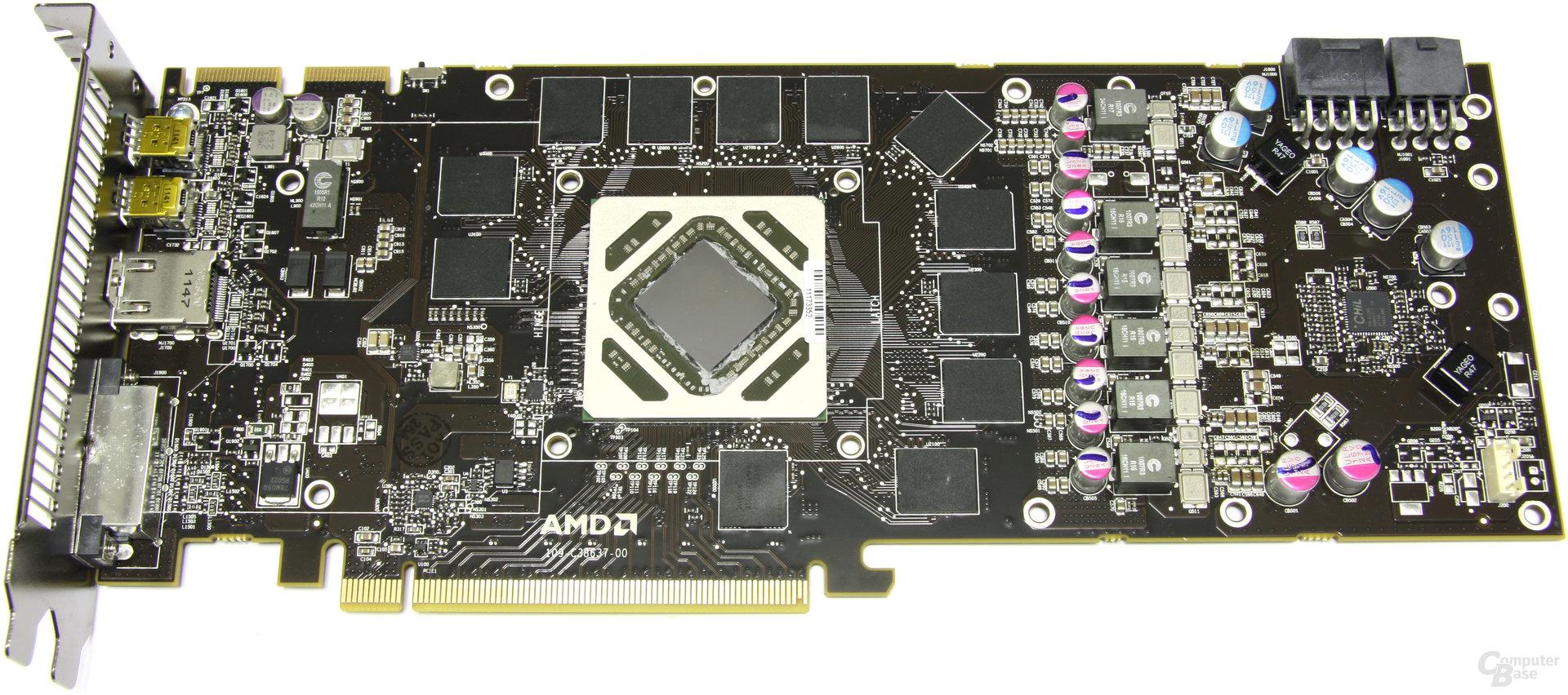 Radeon HD 7970 ohne Kühler